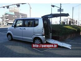 ホンダ N-BOX+ 660 G 車いす仕様車 リアシート付4人乗