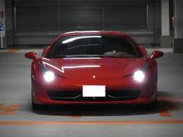 458Italia Rosso Corsa(赤) すべてが美しきフェラーリ最後の自然吸気エンジン 当車輌の現車確認は事前予約のみの受付となっております。