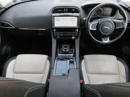 JAGUARの『Fペース』「R-SPORT」を認定中古車でご紹介!前席シートヒーター、MERIDIAN、オートハイビーム、メモリー付パワーシート、LEDヘッドライト