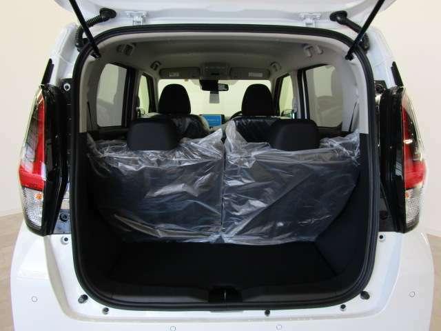 広いカーゴルームは大きな荷物の収納も可能!