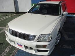 日産 ステージア 2.5 25t RS FOUR S 4WD 純正エアロ キセノン 社外ステアリング
