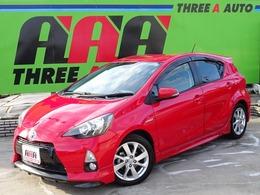 トヨタ アクア 1.5 S 買取車1オーナー禁煙車純正フルエアロ