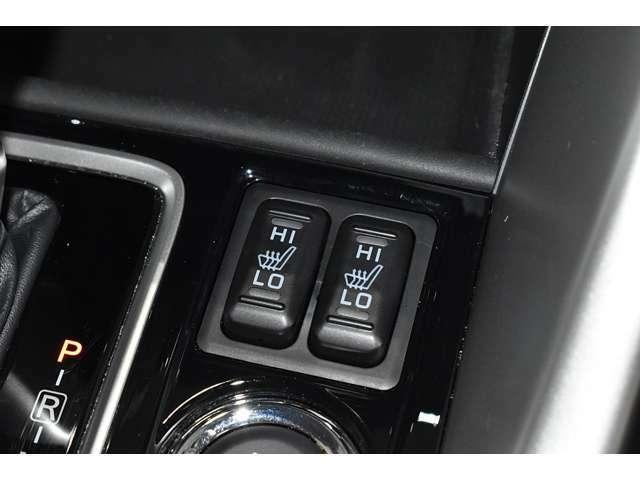 心も体も温めてくれるシートヒーター完備してます◆Hi/Lo切替え式スイッチでお好みの温度に切り替え。寒い冬には温まります!