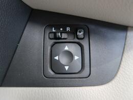 【オートリトラドアミラー】ドアミラーをドアロックに連動して開閉する便利機能です!