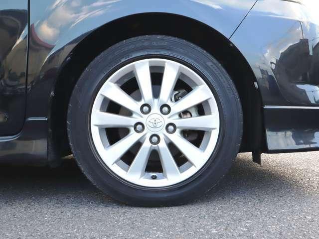 純正エアロ・アルミ バッテリー&タイヤ4本交換付総額! タイヤ4本新品です! しばらくはタイヤ交換の心配無用です!