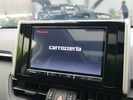 カロッツェリアナビを装備!【地デジフルセグTVの視聴やDVD・CD再生、ミュージックプレイヤー接続、Bluetooth機能などが備わっております♪】