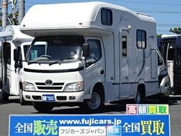 トヨタ カムロード ナッツRV クレソンボーダーED FFヒーター 2段ベッド FFヒーター ナビ