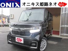 ホンダ N-BOX カスタム 660 L ターボ 新車 ナビTVバックカメラETCマットバイザー