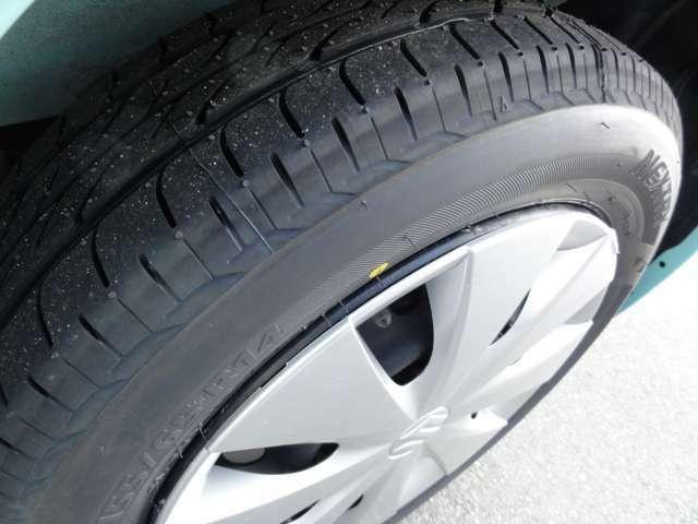 タイヤはブリヂストン製の新品4本交換したてです☆