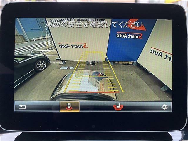 ガイドライン付バックカメラに加え車輌の前後バンパーに装着されたパーキングセンサーが障害物を検知し車庫入れも安心。★詳細はhttp://smart-auto.co.jp弊社ホームページをご覧下さい★