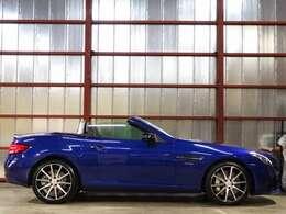 AMGのエンジン音を聞きながらのオープンカーは楽しいドライブになりますね★