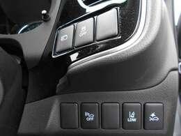 ドライバーの安全サポート機能付き車です。