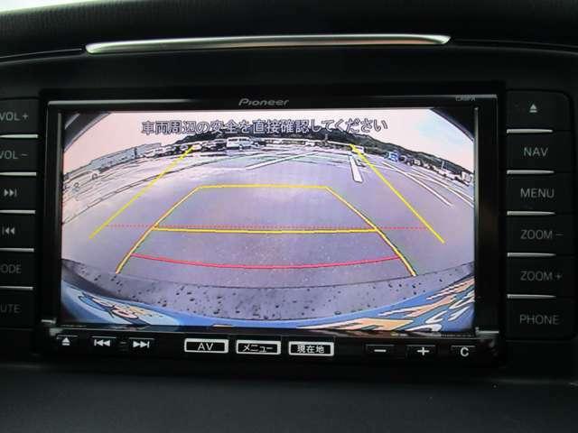 バックカメラも付いています!後方視界を安全に確保します。心強い味方です!