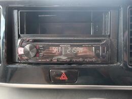 【オーディオ】インパネにすっきり収まり、とても使いやすいです!CDやラジオを聴きながら運転をお楽しみいただけます!
