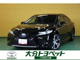 トヨタ カムリ 2.5 WS レザーパッケージ 衝突被害軽減 純正ナビ ドラレコ