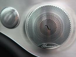 ●Burmesterサラウンドシステム『原音を忠実に再現し、聴くものに対して臨場感を与え、より愉しく、より高品質なサウンドをお楽しみいただけます。』