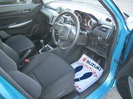 座り心地のいい運転席のシート