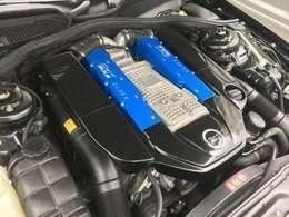 MKB コンプリートエンジンはAMG製V8コンプレッサーをベースにチューニング。