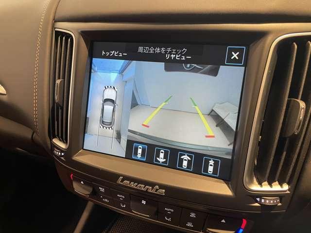 8.4インチ・マセラティタッチコントロール+ 360度カメラやApple carplayが利用できます