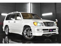 トヨタ ランドクルーザー100 4.7 VXリミテッド Gセレクション 4WD 全塗装パールホワイト エアロ 22AW HID LED
