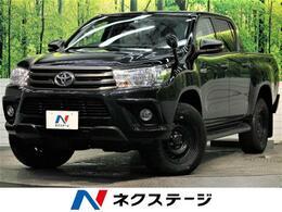 トヨタ ハイラックス 2.4 X ディーゼルターボ 4WD 社外SDナビ バックカメラ トノカバー