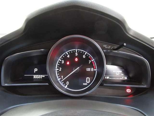 見やすいスピードメーターパネル!