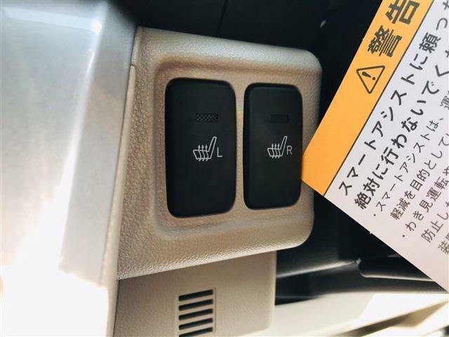 ☆ 続いてはシートヒーターです☆冷える季節は車内でエアコンがあったまるのを待つ時間が苦痛ですが、シートヒーターがあればすぐ暖かくなり体の芯から温めてくれます☆