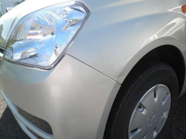 傷凹みはココ位で、全体的に外装・内装ともにきれいな車です!