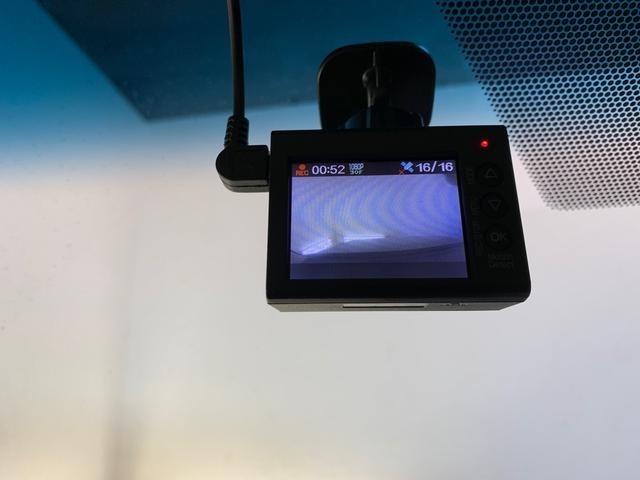 ドライブレコーダー搭載!もしものトラブルにも安心。安全運転をしっかり録画!