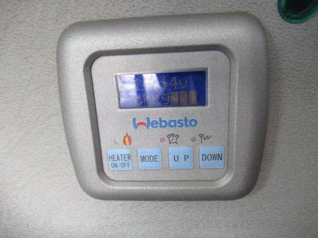 ベバストのFFヒーターが装備されております!冬場のお出掛けも安心ですね♪