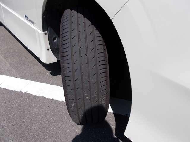 タイヤの溝は十分です。