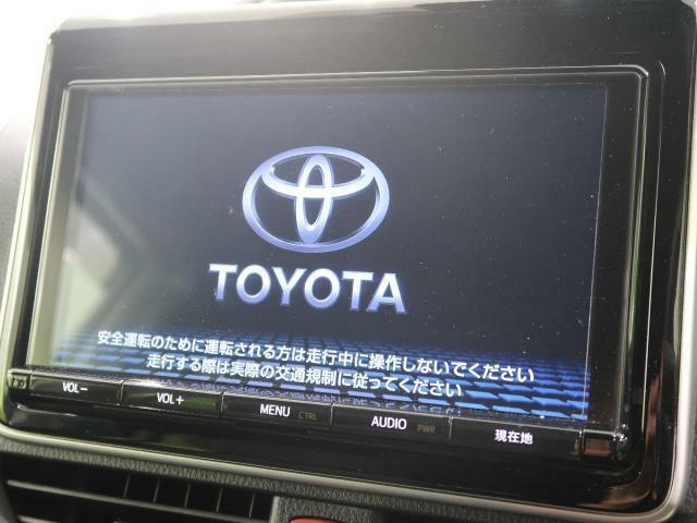 トヨタ純正9型SDナビを装備!【DVDや地デジフルセグTVの視聴、CDからの音楽録音などの機能が有ります♪】