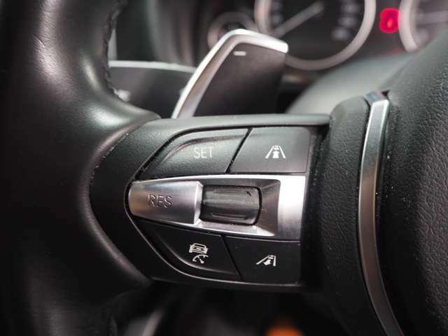 アクティブクルーズコントロール装備で高速での移動も安心快適です