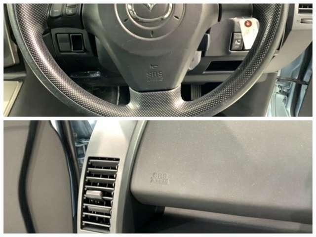 運転席、助手席エアバックを装備しています。