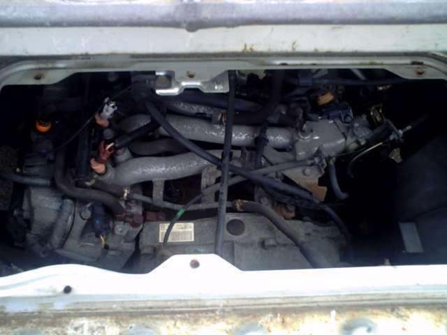 【エンジンルーム】点検・整備済ですので、安心してください。