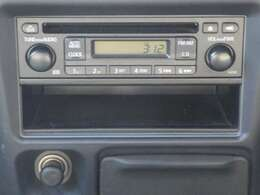 シンプルが良い! 『CD一体式AM/FM電子チューナーラジオ+AUX入力』