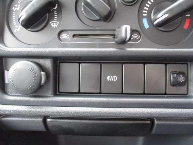 もしもの時も安心の4WD車になります!