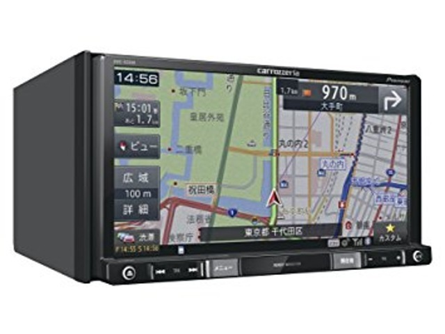 ☆パイオニア楽ナビ AVIC-RZ500☆記録メディアタイプ:メモリ タイプ:一体型(2DIN) 画面サイズ:7型 TVチューナー:ワンセグ(地デジ)Bluetooth 3.0+EDR搭載・DVD/CDメーカー