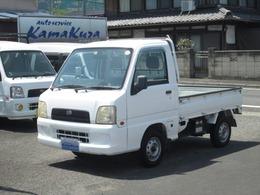 スバル サンバートラック 660 TB 三方開 4WD 5速 エアコン パワステ