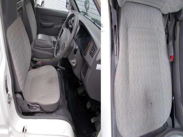 運転席焦げ跡ございます。