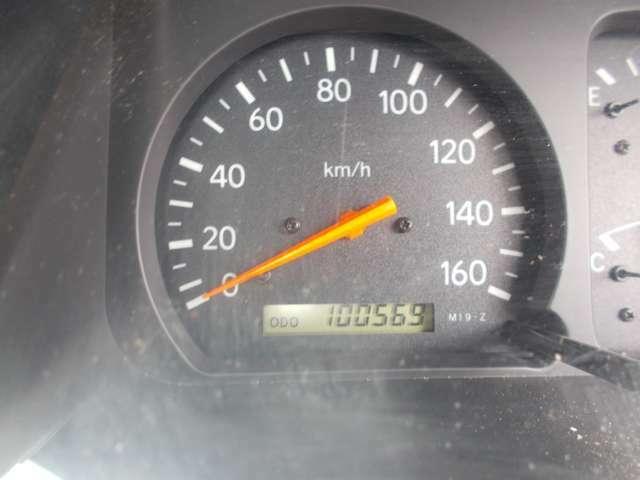 走行距離100569キロ