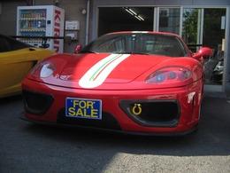 フェラーリ 360モデナ 3.6 パワークラフト可変マフラー黒革