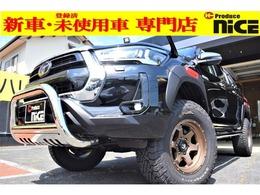 トヨタ ハイラックス 2.4 Z ディーゼルターボ 4WD FUEL17AWリフトUPグリルガードロールバー