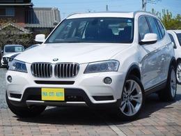 BMW X3 xドライブ35i 4WD 全国保付 SR 黒革 純ナビ Bカメ