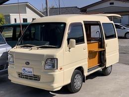スバル サンバー 660 トランスポーター キッチンカー 移動販売車 オートマ