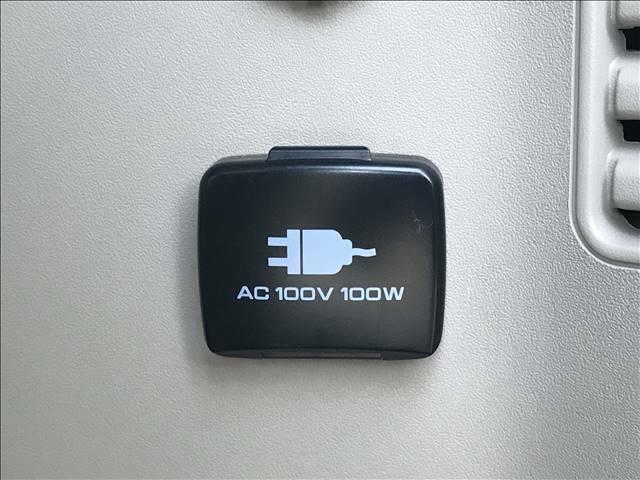 AC100V装備。遠出の時に便利です。