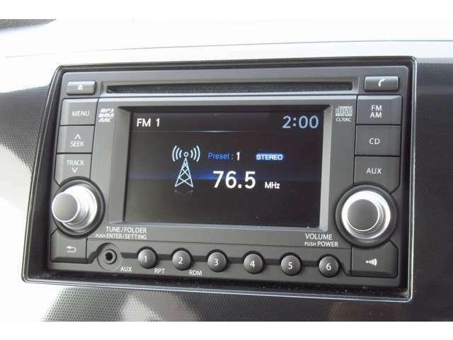 モニター付きの純正CDオーディオを装備しています!!当店では各種カーナビやドライブレコーダーも取り扱っておりますのでぜひお申し付けください!!!
