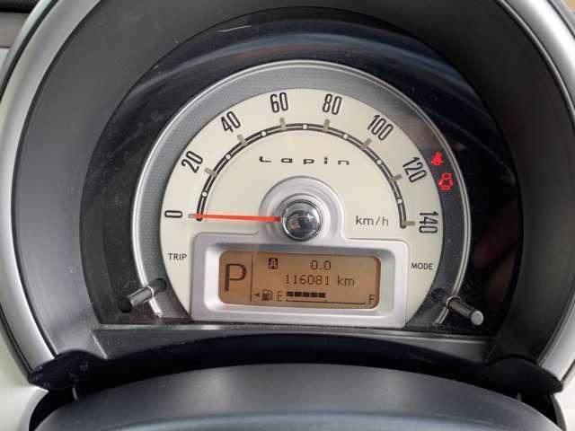 走行距離は116000キロ、修復歴は御座いません、タイミングチェーン式のお車になりますので、10万キロごとのベルトの交換が必要ありません☆
