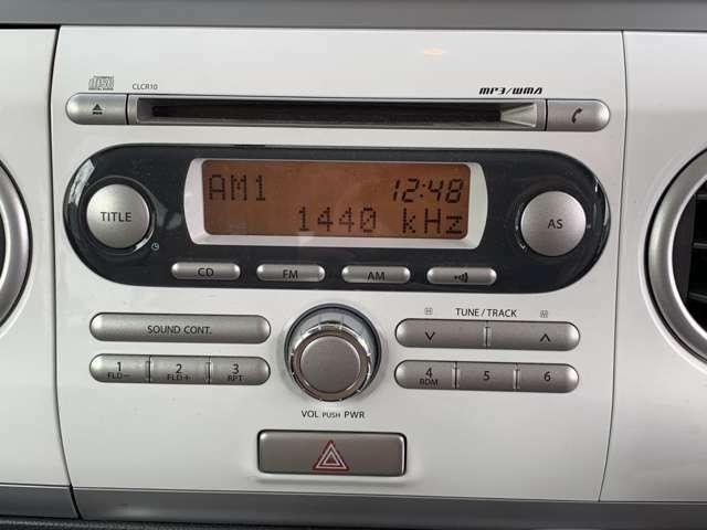 純正CDオーディオ♪ナビの取り付けなども出来ますのでお気軽にお申し付け下さいませ☆