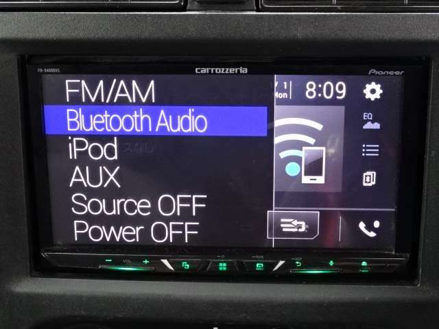 Bluetooth・USB・ミュージックサーバーと装備満載です!!